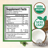 Windmill USDA Organic MCT Oil, 32 Ounces