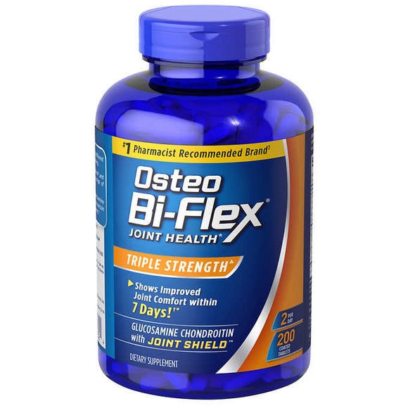Osteo Bi-Flex Triple Strength, 200 Tablets