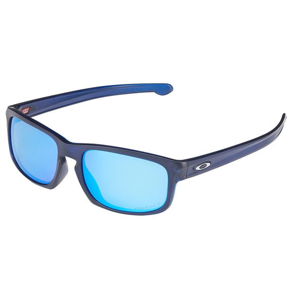 Oakley Sliver Stealth Prizm 9409 Matte Translucent Blue Polarized Sunglasses