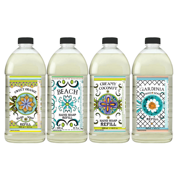 Home and Body Company Hand Soap Refill, 4-pack