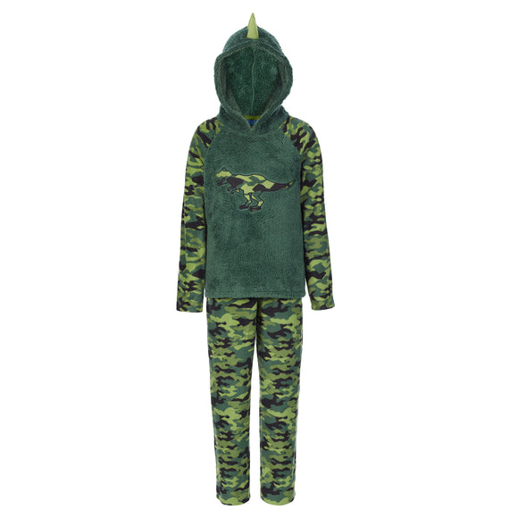 St. Eve Youth 2-piece PJ Set, Dinosaur