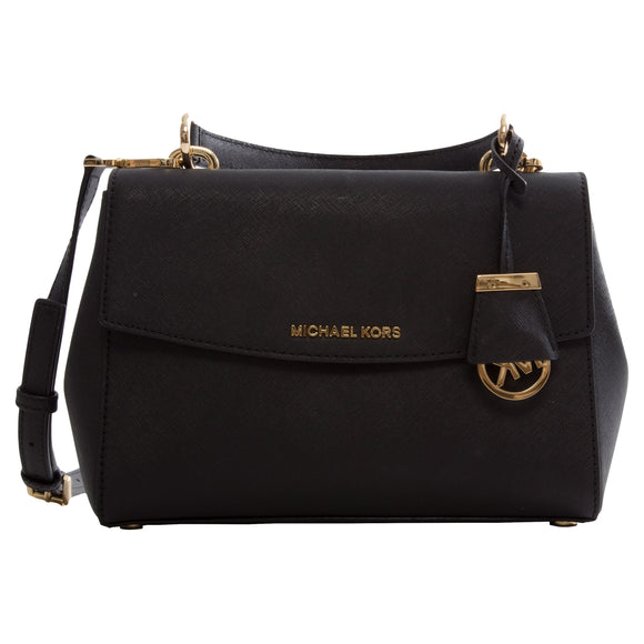 Michael Kors Ava Small Satchel, Black