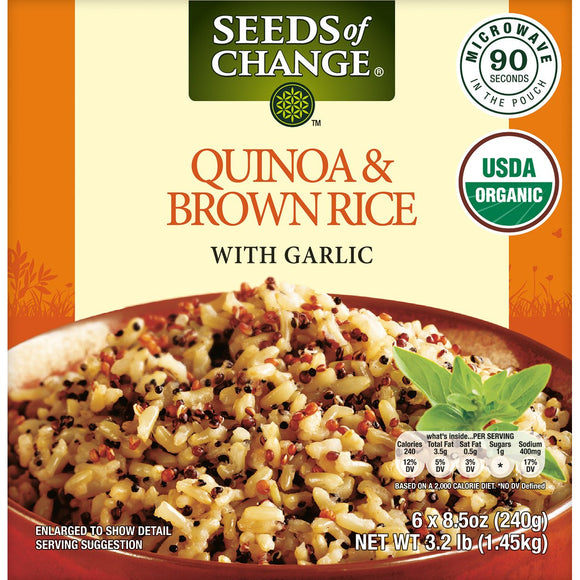 Seeds of Change Organic Quinoa and Brown Rice 8.5 oz, 6-count
