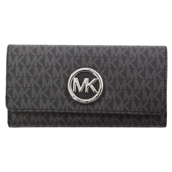 Michael Kors Fulton Carryall Wallet, Black