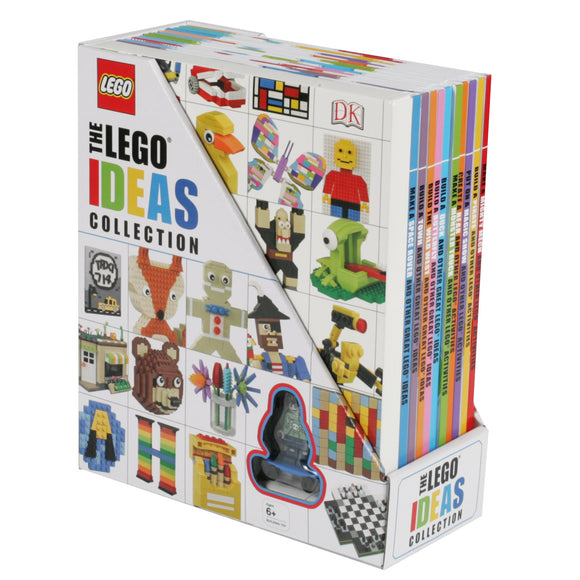 The Lego Ideas Collection: 10 Book Box Set with Figurine