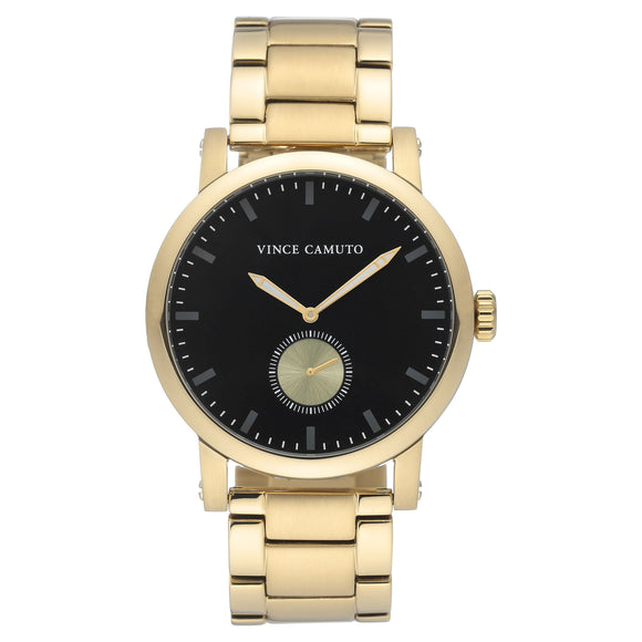Vince Camuto Gold-Tone Men's Watch