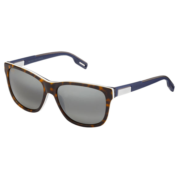 Maui Jim Howzit 734-57 Tortoise with Blue & White Polarized Sunglasses