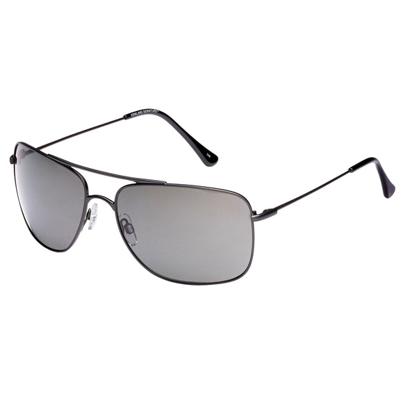Kirkland Signature M40 Matte Gunmetal Polarized Sunglasses
