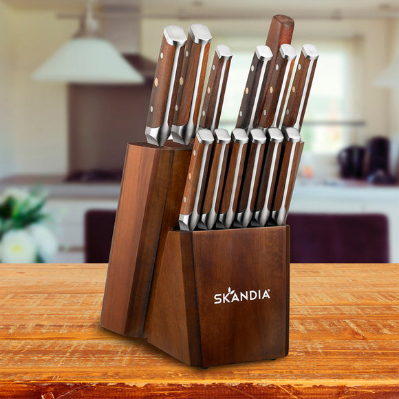 Skandia Harley 14-piece Knife Block Set