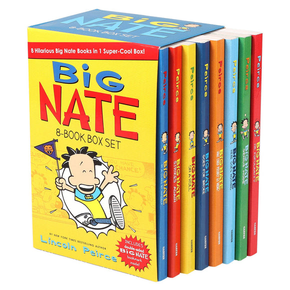 Big Nate: 8 Book Box Set by Lincoln Peirce