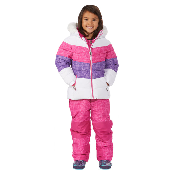 Weatherproof Kids' 2-piece Snowsuit, White