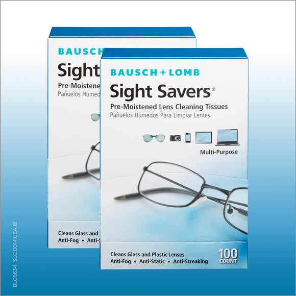 Sight Savers Lens Cleaning Tissues, 200 Tissues