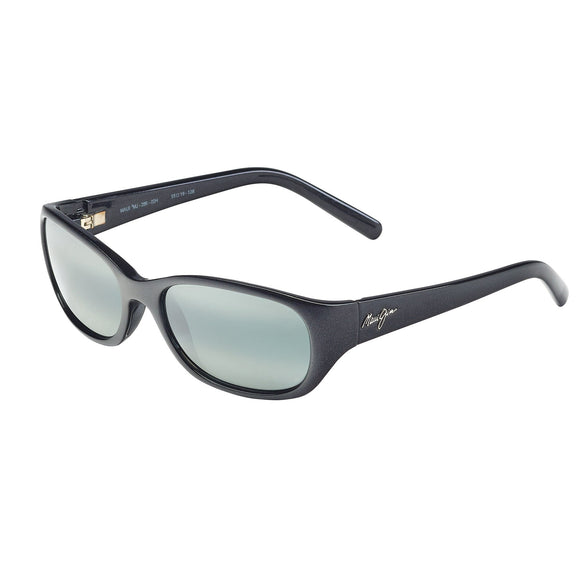 Maui Jim Kuiaha Bay 286-02H Midnight Black Polarized Sunglasses