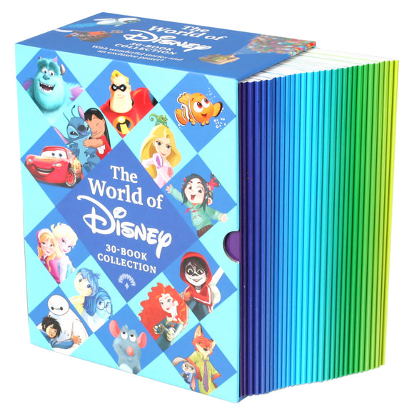 The World of Disney Collection: 30 Book Box Set