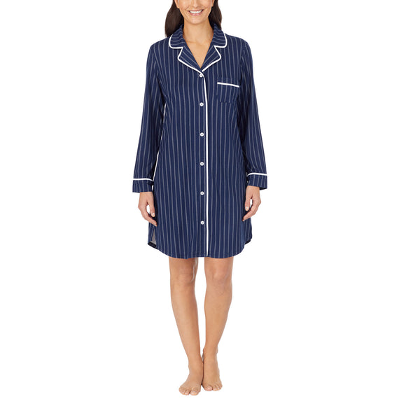 Midnight by Carole Hochman Ladies' Notch Collar Sleep Shirt
