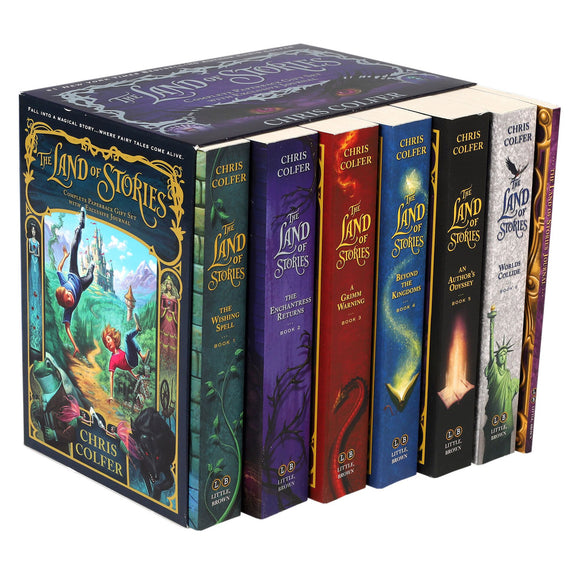 The Land of Stories: 6 Book Box Set by Chris Colfer
