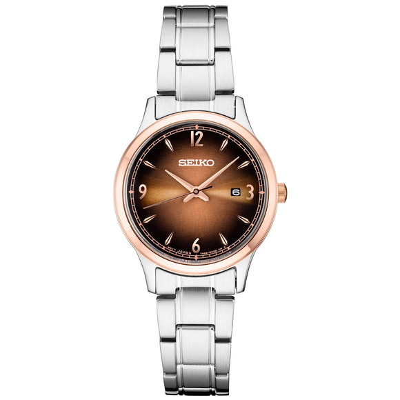Seiko Essential Classic Stainless Steel Ladies Watch