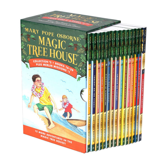 Magic Tree House Collection 2: 16-29 Book Box Set by Mary Pope Osborne