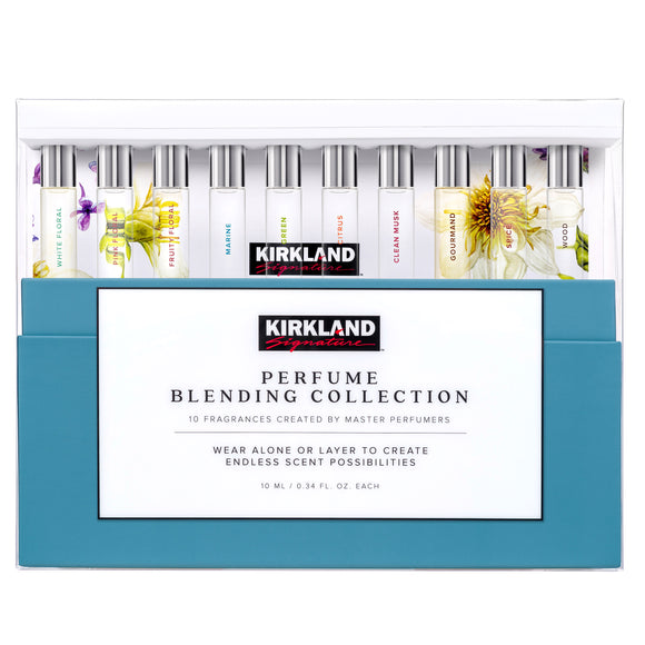 Kirkland Signature Perfume Blending Collection Rollerballs 10/0.34 oz
