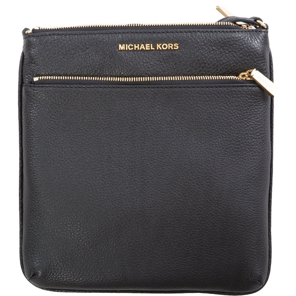Michael Kors Riley Small Flat Crossbody Bag, Black