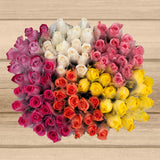 100-stem Single Wrapped Roses