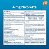 Nicorette Quit Smoking Aid 2mg. or 4mg., Spearmint Burst Gum 200 Pieces