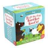 Can You Say It, Too?: 8 Lift-the-Flap Board Book Box Set