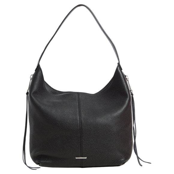 Rebecca Minkoff Medium Bryn Double Zip Hobo Bag, Black