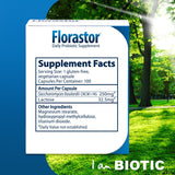 Florastor Daily Probiotic 250 mg., 120 Capsules