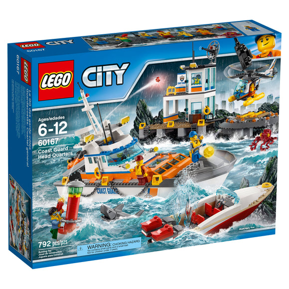 LEGO City Coast Guard Head Quarters