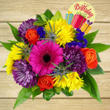 Bright & Beautiful Birthday Arrangement