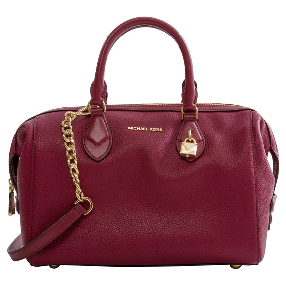 Michael Kors Grayson Large Convertible Satchel, Mulberry
