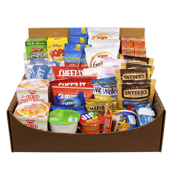 Dorm Room Snack Box 70-piece