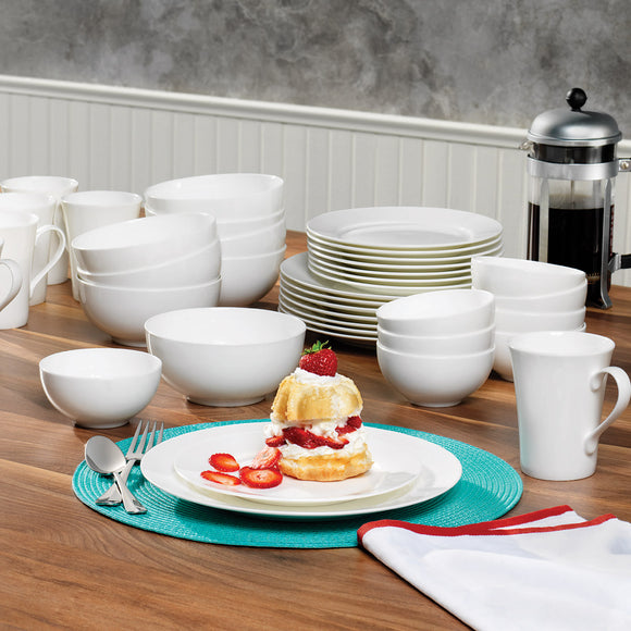 Mikasa Lausanne 40-piece Bone China Dinnerware Set