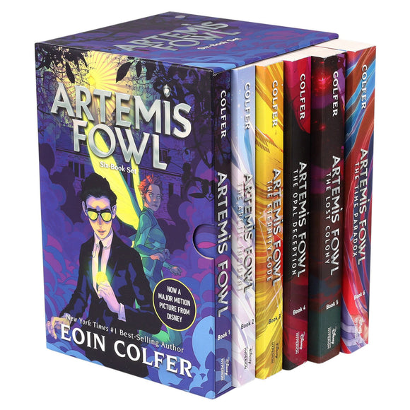 Artemis Fowl: 6 Book Box Set by Eoin Colfer