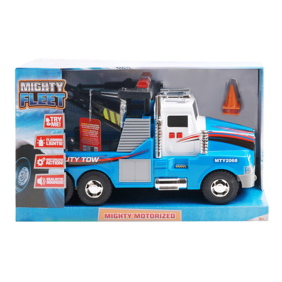 Mighty Fleet Mighty Motorized Tow Truck
