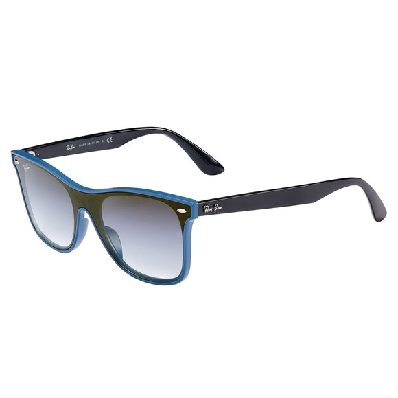Ray-Ban RB4440NF Blue Demishiny Sunglasses