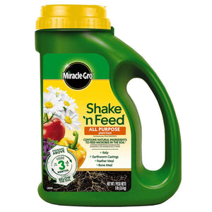 Miracle-Gro Shake 'n Feed All Purpose Plant Food 8 lb