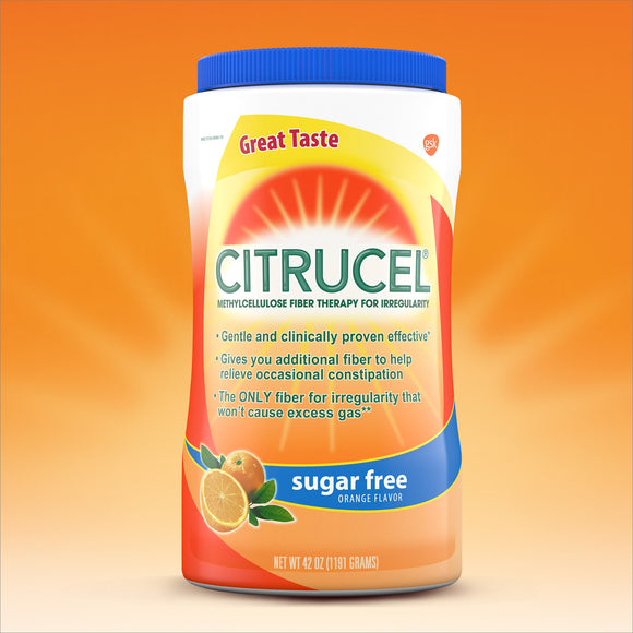 Citrucel Fiber Sugar Free, 42 Ounces