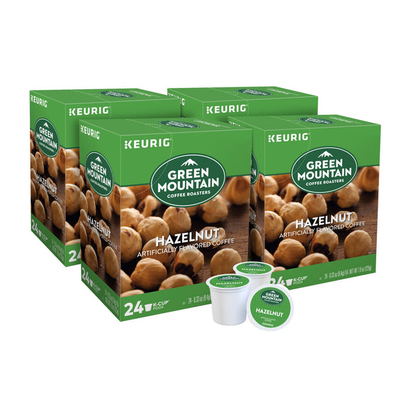 Green Mountain Coffee Hazelnut, Single Serve Keurig K-Cup pods  96-count