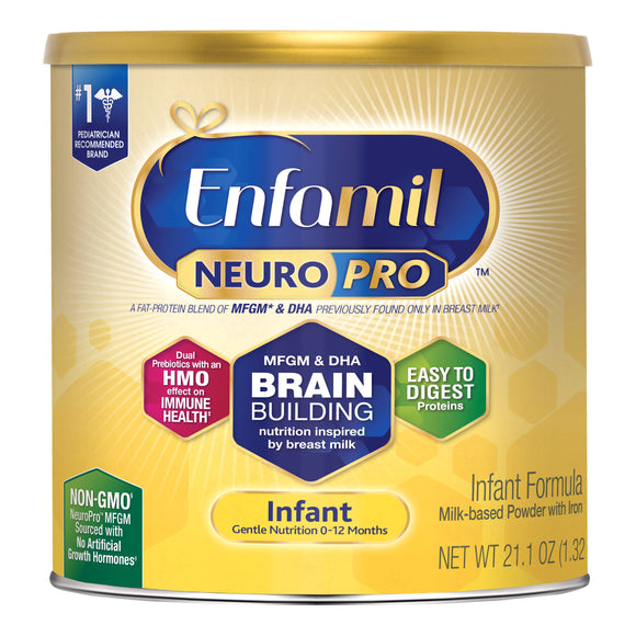 Enfamil NeuroPro Infant Formula 21.1 oz, 6-pack