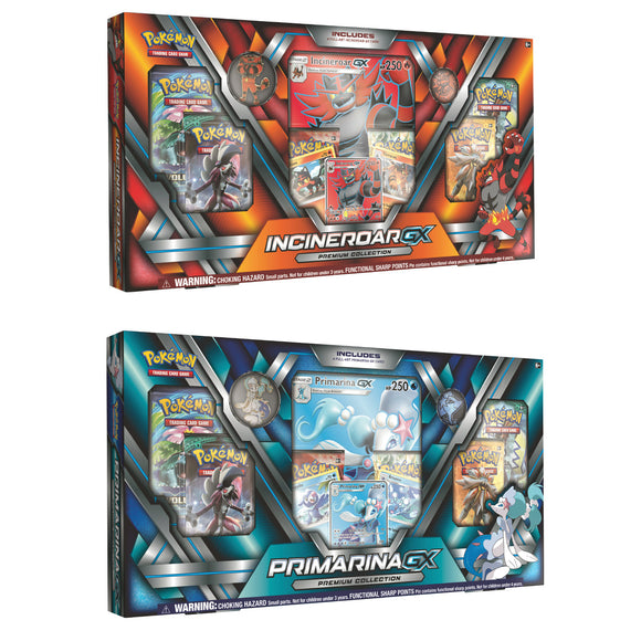 Pokémon Primarina-GX and Incineroar-GX Premium Bundle