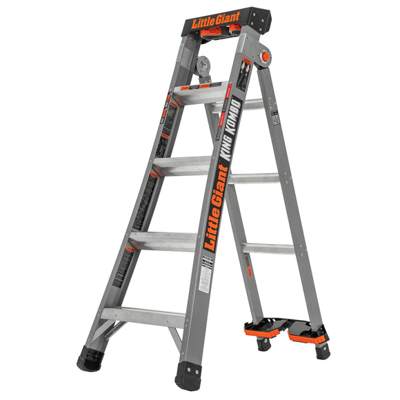 Little Giant King Kombo Fiberglass Ladder
