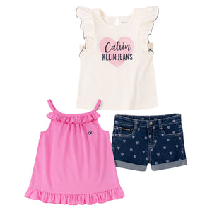 Calvin Klein Kids' 3-piece Set, Hearts