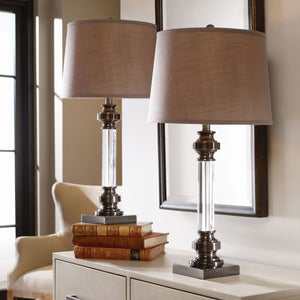 Sam Crystal Table Lamp 2-pack