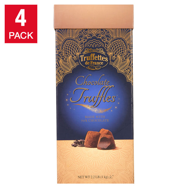 Truffettes de France Chocolate Truffles 2.2 lb, 4-count