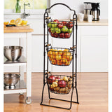 Gourmet Basics by Mikasa Harbor 3-tier Market Basket