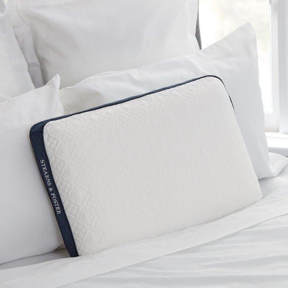 Stearns & Foster Memory Foam Pillow with Cool Touch Cover