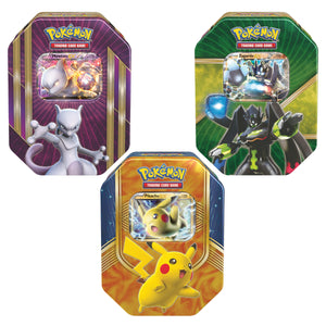 Pokémon Tin 3-pack Collector's Edition Yellow Pack