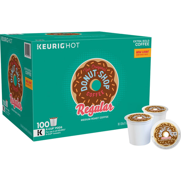 Green Mountain The Original Donut Shop Coffee, Medium, 100 K-Cup Pods